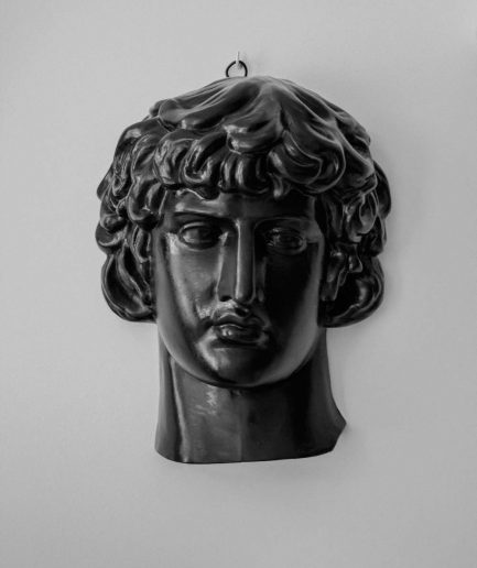 ANTINOUS plaster head by Rihards Ābeltiņš