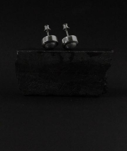 7 mm saldūdens pērļu auskari